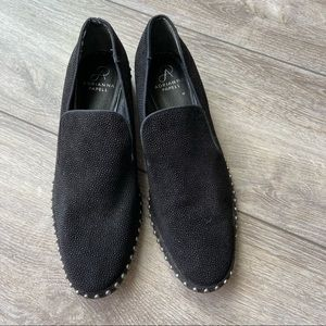 Adrianna Papell Prince Studded Leather Loafer